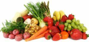 фрукты и овощи