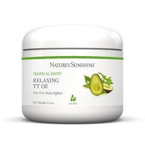 Обезболивающий, расслабляющий крем с маслом чайного дерева (Relaxing TT Oil)