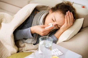 Осложнения при вирусных инфекциях