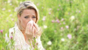 насморк аллергия